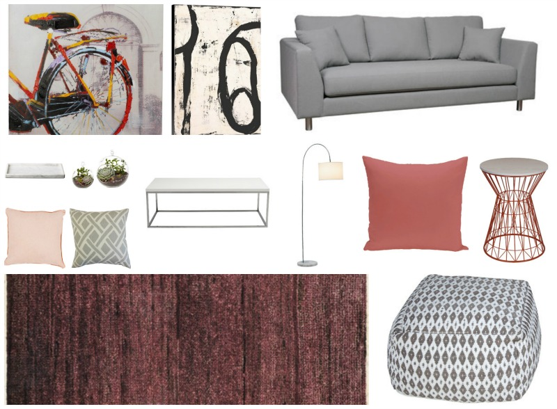Get the Look - Colorful Living Room