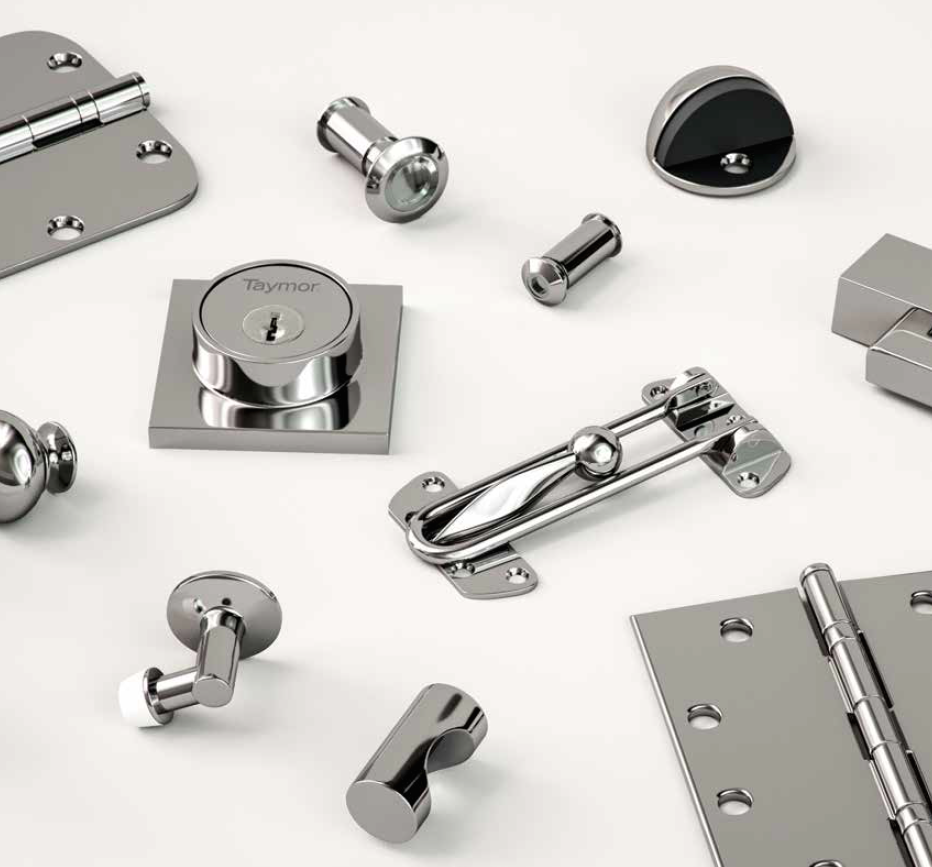 Assorted Taymor Commercial Hardware