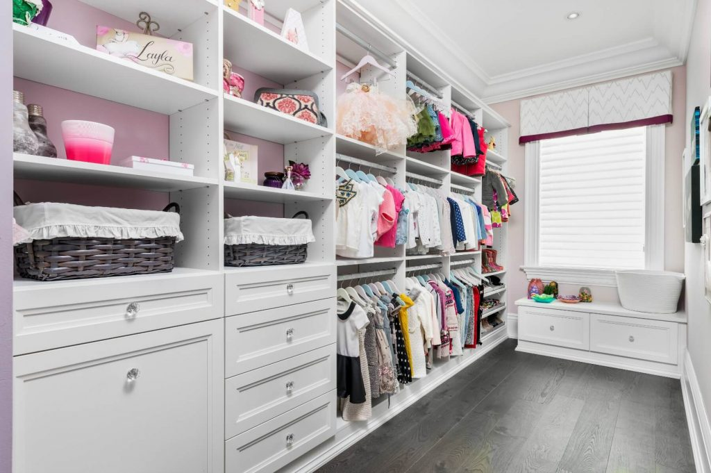 Child's Walk In Closet