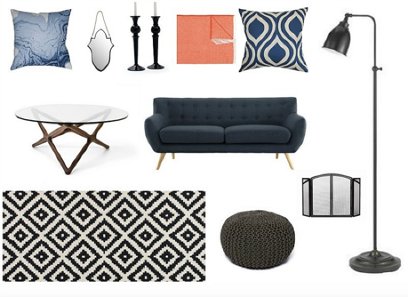 Get the Look Modern Living Room