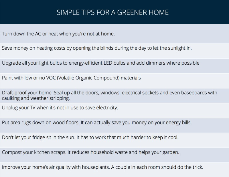 Green Home Tips 1