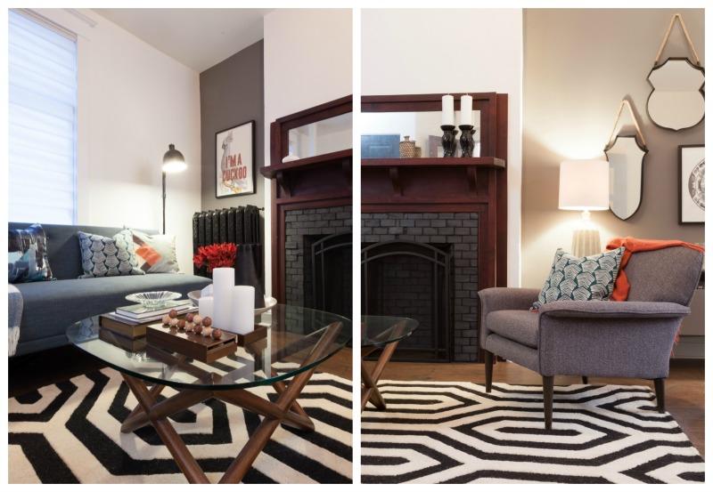 Modern Living Room Details