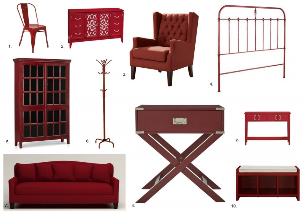 Red Furniture