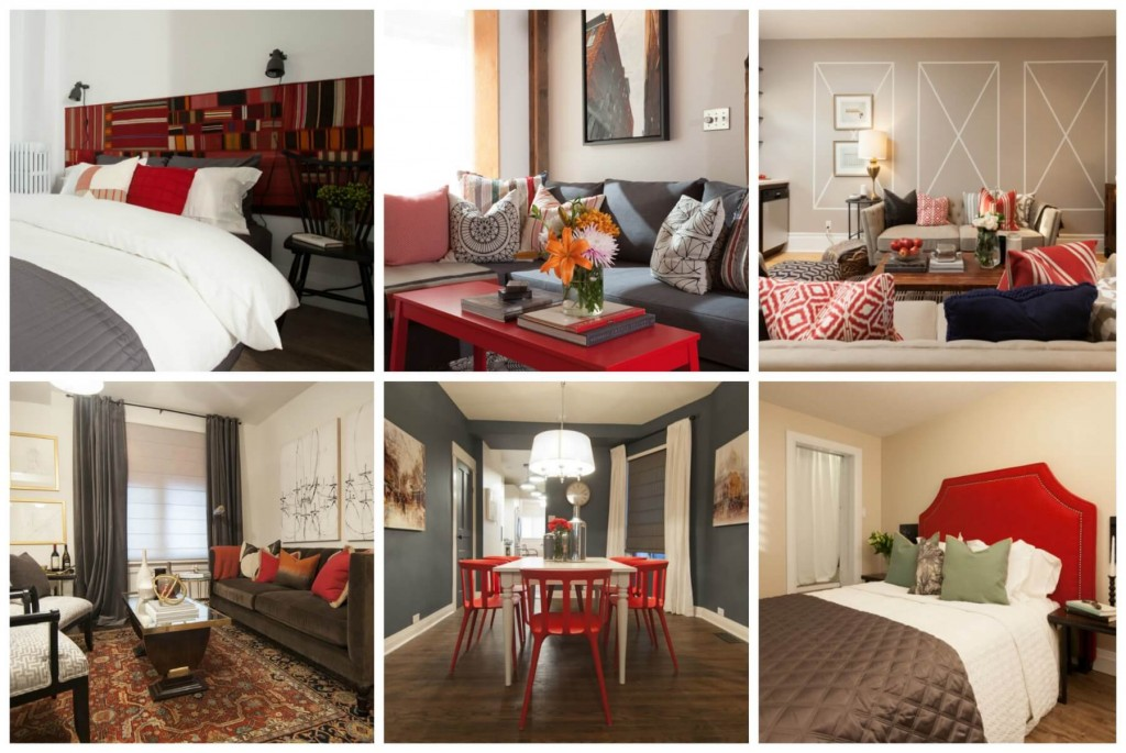 Red Home Decor For Every Room In The House Scott Mcgillivray