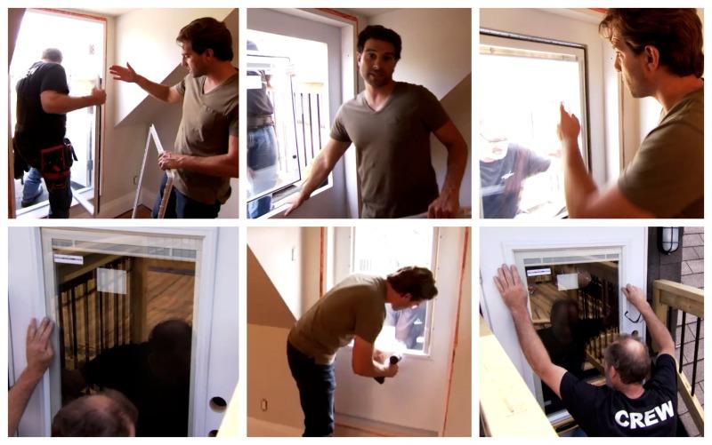 Scott Installing Door Lite