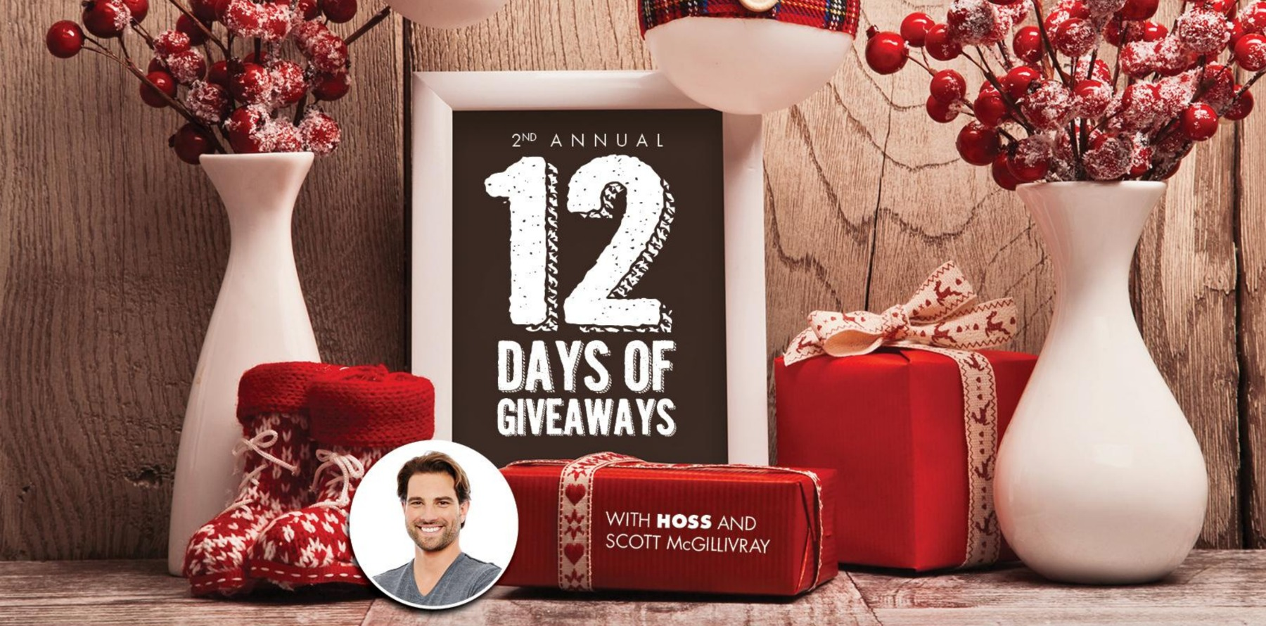 Scott McGillivray 12 Days of Giveaways